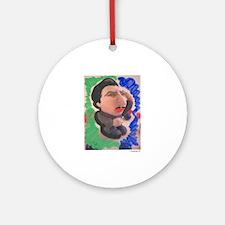 Pop Annemann (green) Ornament (Round)