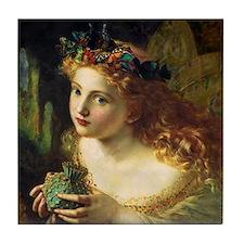 Sophie Gengembre Anderson Fairy Tile Coaster