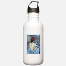 Toulouse-Lautrec Rousse (High Res) Water Bottle