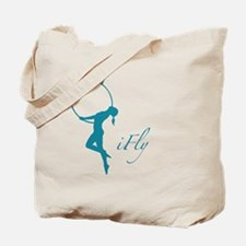 iFly Lyra Aerial Artist Silouhette Tote Bag