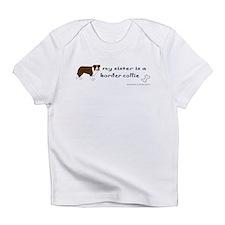border collie Infant T-Shirt