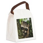 Baby Raccoon Canvas Lunch Bag