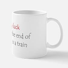 luck train Mug