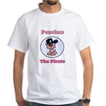 Peaches the Pirate.png White T-Shirt