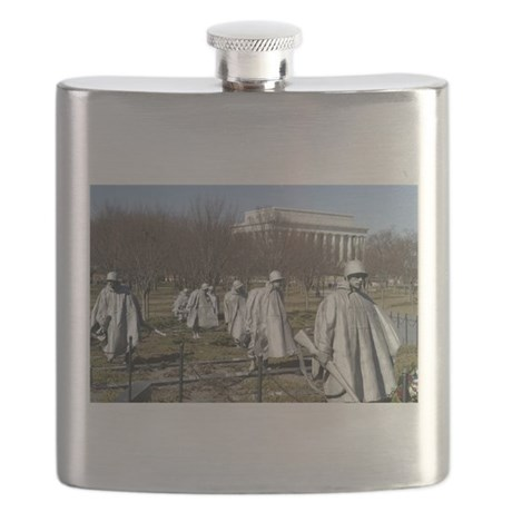 Korean War Memorial - Horizontal.jpg Flask