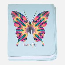 Delight Butterfly baby blanket