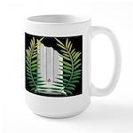 Masonic Widows column with acacia Large Mug