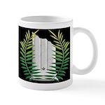 Masonic Widows column with acacia Mug