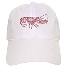 lobster vintage Baseball Cap