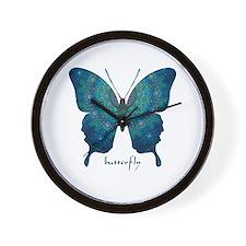 Mercy Butterfly Wall Clock