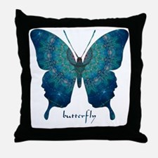 Mercy Butterfly Throw Pillow