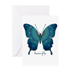 Mercy Butterfly Greeting Card