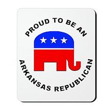 Arkansas Republican Pride Mousepad
