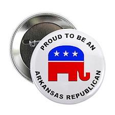 "Arkansas Republican Pride 2.25"" Button"