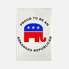Arkansas Republican Pride Rectangle Magnet