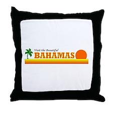 Unique Bahaman Throw Pillow