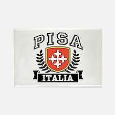 Pisa Italia Coat of Arms Rectangle Magnet