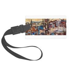 Philadelphia Pats and Ginos CheeseSteak Luggage Tag