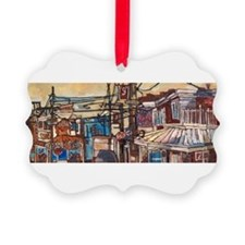 Philadelphia Pats and Ginos CheeseSteak Ornament
