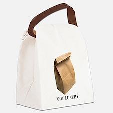 got lunch Canvas Lunch Bag