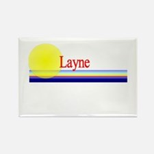 Layne Rectangle Magnet