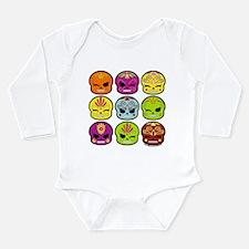 La Muertita Long Sleeve Infant Bodysuit
