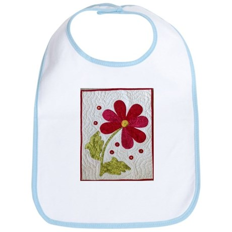 Give Yourself Flowers Today Bib