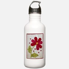 Give Yourself Flowers Today Water Bottle