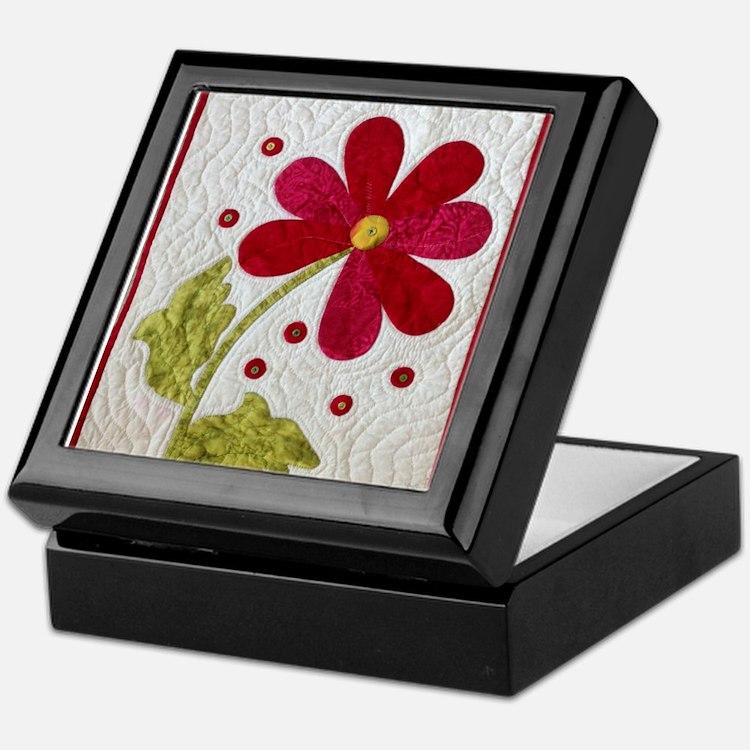 Give Yourself Flowers Today Keepsake Box