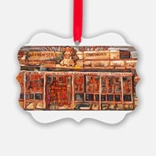 Philadelphia Tony Lukes CheeseSteak Ornament