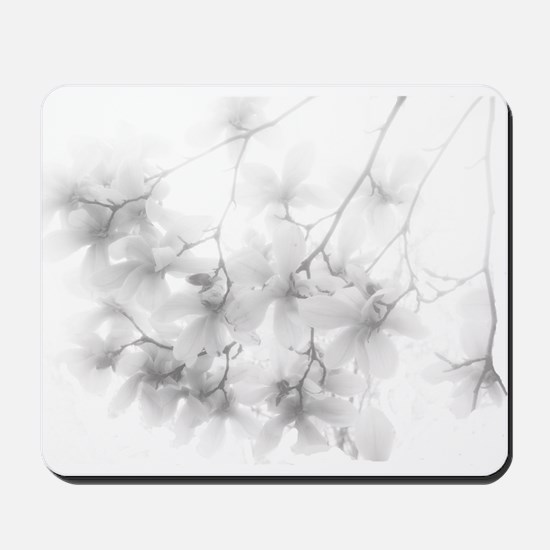 Ethereal Magnolia Blossoms Mousepad