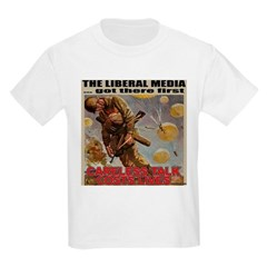 "Liberal Media ""Careless Talk"" Kids T-Shirt"