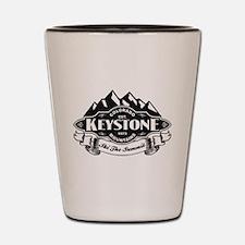 Keystone Mountain Emblem Shot Glass