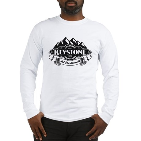 Keystone Mountain Emblem Long Sleeve T-Shirt