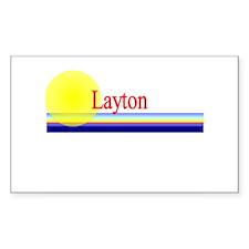 Layton Rectangle Decal