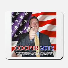 Cooper 2012 Campaign Mousepad