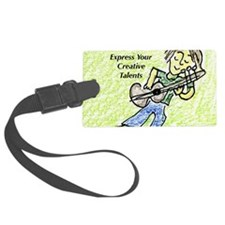 express creative talents.jpg Luggage Tag