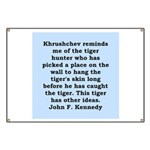 kennedy quote Banner