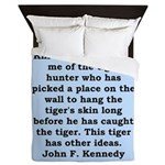 kennedy quote Queen Duvet