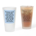 kennedy quote Drinking Glass