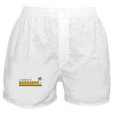 Cute Barbados Boxer Shorts