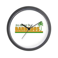 Unique Barbados Wall Clock