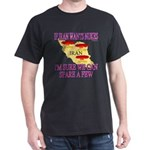 Give Iran Nukes Black T-Shirt