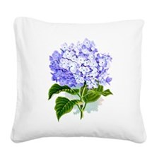 Hydrangea Square Canvas Pillow