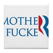 Romney is a MoFo Tile Coaster