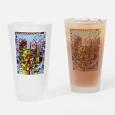 Philadelphia Mummers Parade Drinking Glass