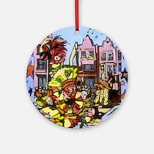 Philadelphia Mummers Parade Ornament (Round)