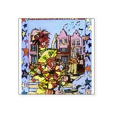 "Philadelphia Mummers Parade Square Sticker 3"" x 3"""