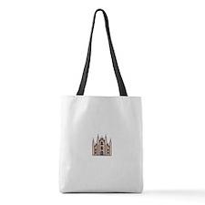Dachshund Candy Cane Santa Shoulder Bag