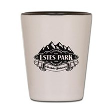 Estes Park Mountain Emblem Shot Glass